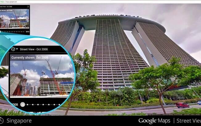 Obra do Castelão, em Fortaleza, pode ser vista desde 2007 no Google Street View