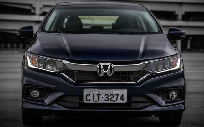 Honda City 2018: as novas mudanças deixaram o sedã compacto mais parecido com o irmão Civic