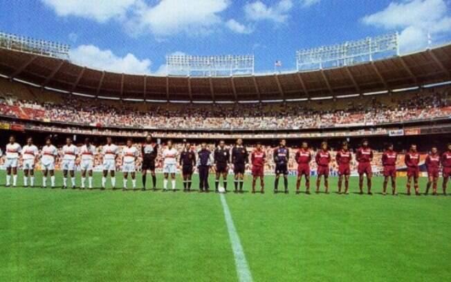Supercopa da Itália de 1993 foi realizada em Washington, EUA. Ação de marketing para a Série A ainda não está certa