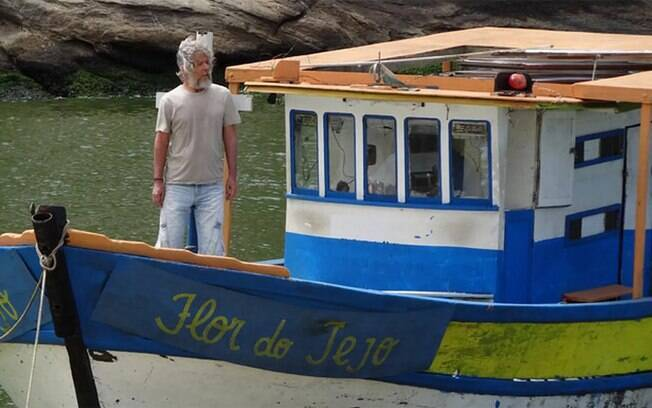 Pereirinha no barco