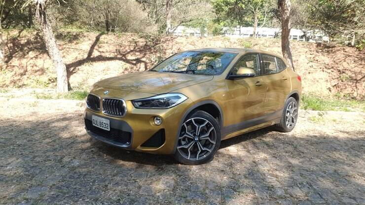 bmw x2 2019 aceleramos o suv com cara de hatch esportivo testes ig. Black Bedroom Furniture Sets. Home Design Ideas