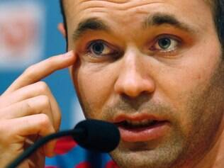 Iniesta quer que adversários fiquem com os olhos bem abertos em relação ao Barcelona