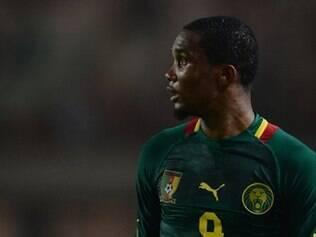 Eto'o é a principal arma de Camarões para a Copa do Mundo no Brasil
