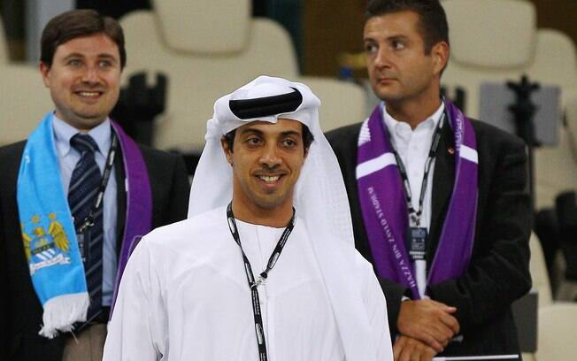 Sheikh Mansour Bin Zayed Nayhan, dono do Manchester City