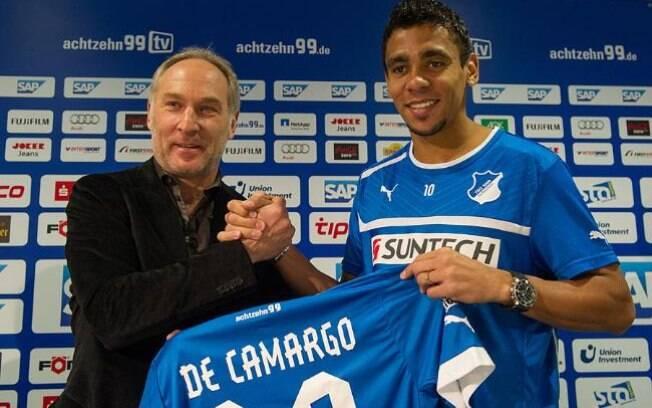 Igor de Camargo deixou o alemão Hoffenheim e  foi para o Standard Liège, da Bélgica