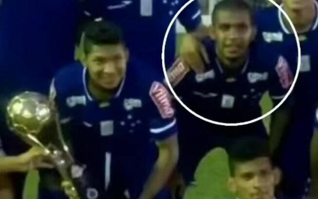 Rony atuou ao lado de Alex Apolinário no Cruzeiro