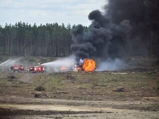O Ministério da Defesa disse que o segundo piloto que sobreviveu ao acidente está em condições satisfatórias