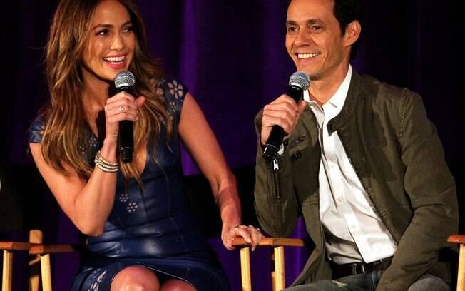 J. Lo e Marc Anthony: a amizade prevalece