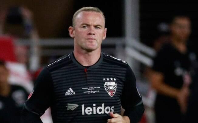 Wayne Rooney é jogador do DC United desde junho de 2018