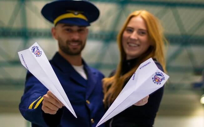 Seletivas para o Mundial de avião de papel estão abertas no Brasil