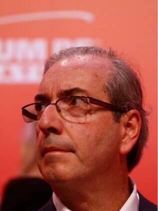 O presidente da Câmara, Eduardo Cunha (PMDB-RJ), se estranhou com Renan Calheiros, colega de partido