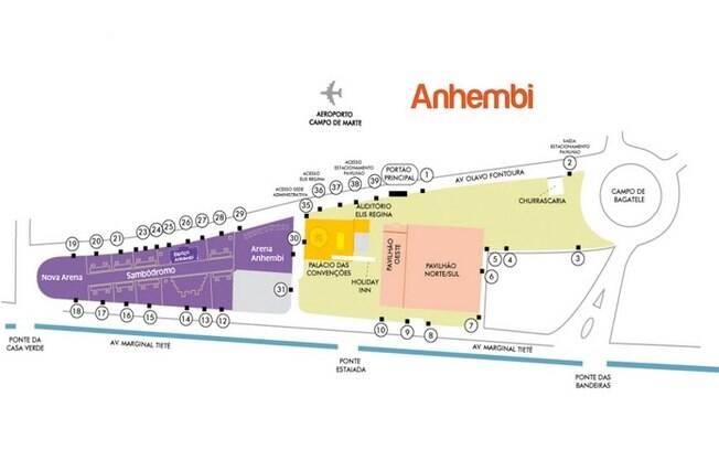 O Complexo do Anhembi