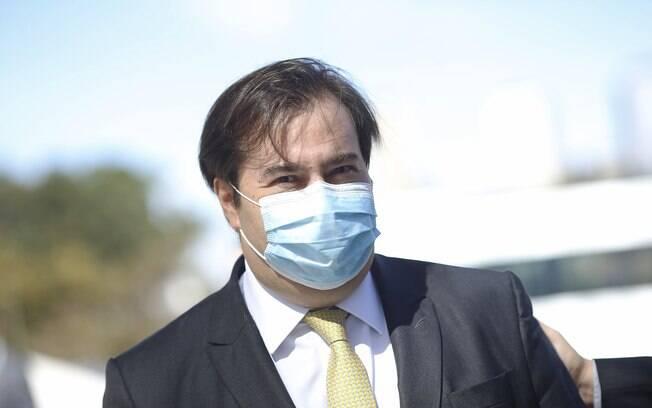 Rodrigo Maia ironizou o ex-ministro da justiça e defendeu uma frente ampla
