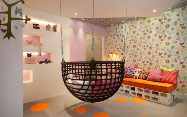 Cavaletes e pallets decoram os ambientes da Morar Mais Rio