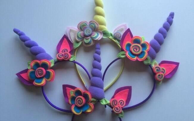 Fantasias de carnaval de unicórnio fazem sucesso entre as crianças