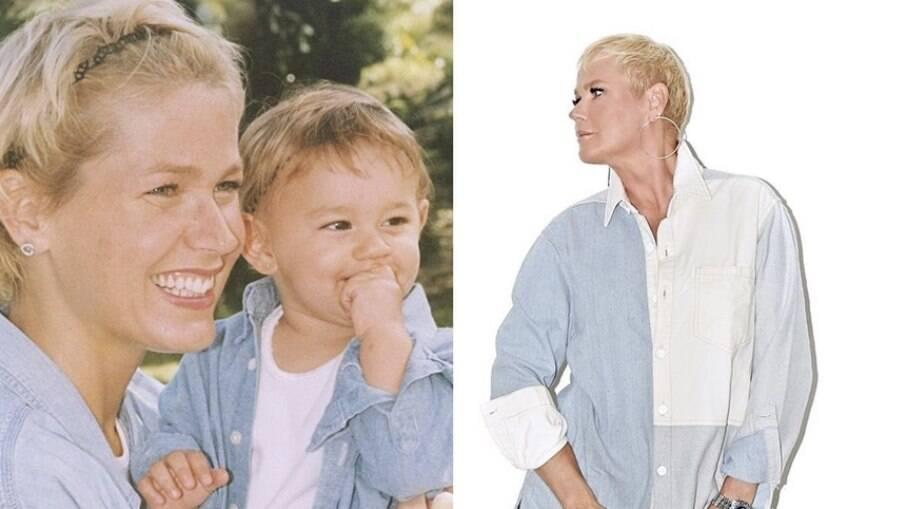 Xuxa e Sasha Meneghel