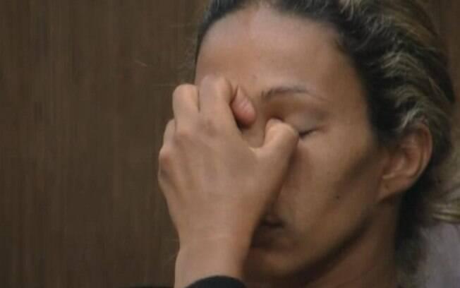 Valesca chora após conversa sobre votação