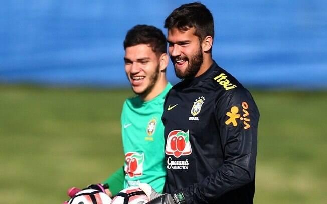 Alisson é goleiro titular da seleção brasileira