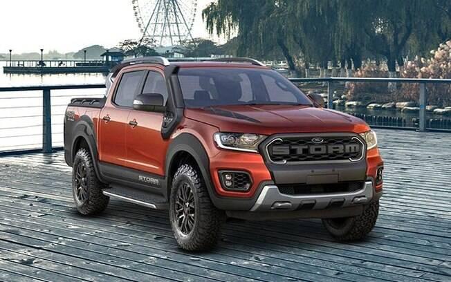 Ford Ranger Storm de produção será praticamente igual à versão conceitual, com uma série de itens exclusivos