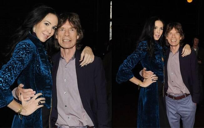 Mick Jagger e a namorada, a estilista L'Wren Scott