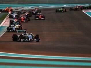 Confira imagens do GP de Abu Dhabi