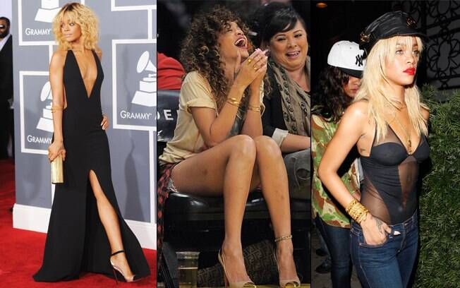 Rihanna: looks ousados chamam a atenção em aparições públicas