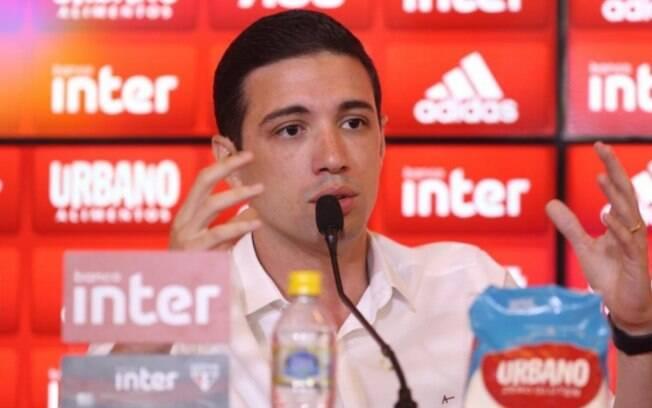 Alexandre Pássaro, gerente de futebol do São Paulo