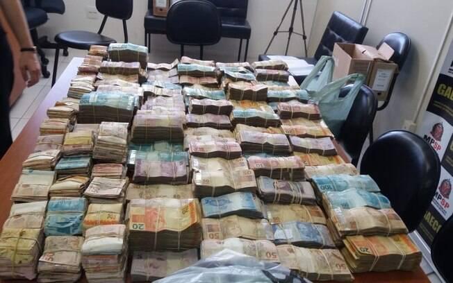 Operação do MP, Gaeco e PM contra o PCC apreendeu grande quantidade de dinheiro em Sorocaba