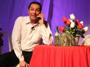 """Comédia.  Carlos Nunes dará """"dicas"""" à plateia de como se deve proceder em festas com pouca comida"""