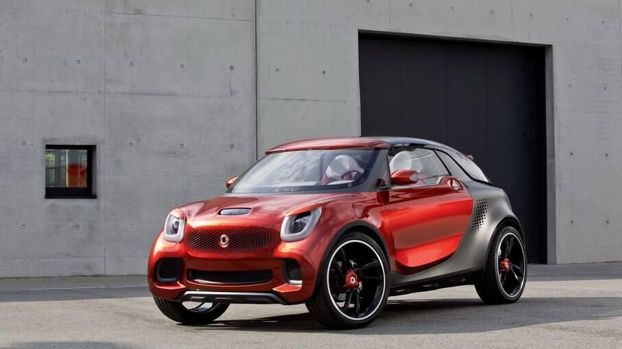 Conceito da Smart antecipa como deverá ser o primeiro SUV da marca conhecida pelos pequenos modelos de estilo irreverente