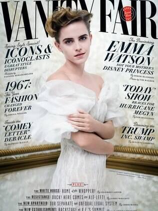 Emma Watson na capa da Vanity Fair