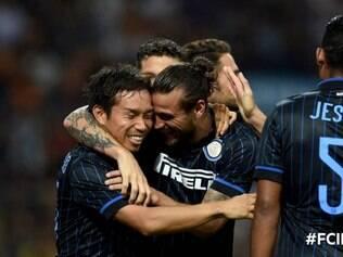 Inter de Milão goleou o Stjarnan por 6 a 0