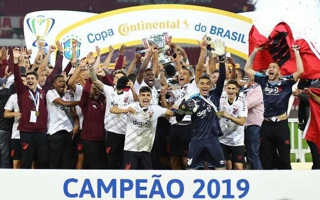 Athletico-PR campeão da Copa do Brasil 2019