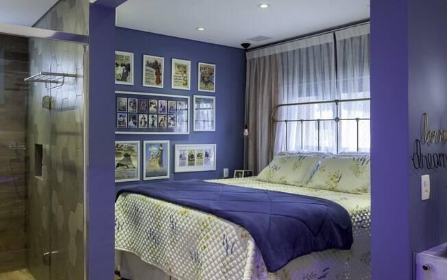 A personalidade dos moradores foram a inspiração para a decoração do quarto