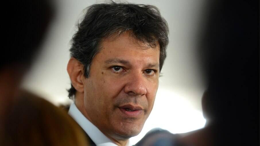 Fernando Haddad (PT) é um dos principais nomes do partido para concorrer ao Palácio dos Bandeirantes