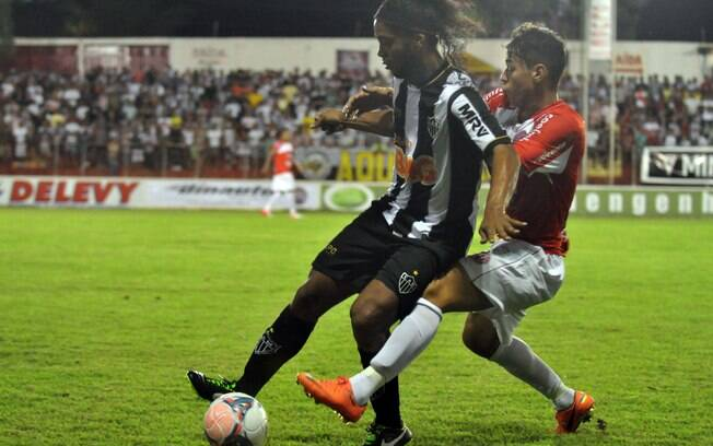Ronaldinho Gaúcho marcou um dos gols do  Atlético-MG na vitória diante do América-TO