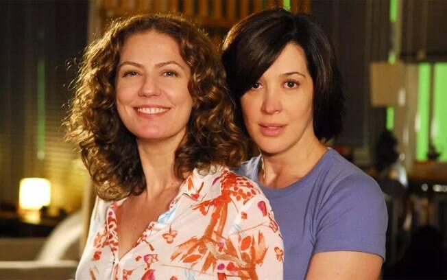 Patrícia Pillar e Claudia Raia são as protagonistas de