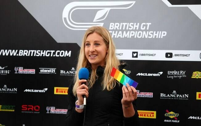 Charlie é ativista transexual e será a primeira a correr nas 24 horas de Le Mans