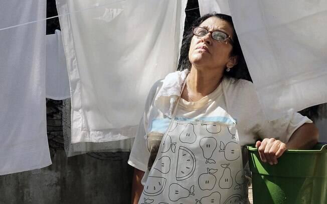 Regina Casé interpretou uma empregada doméstica em 'Que Horas Ela Volta?'