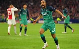 Com hat-trick de Lucas, Tottenham vira nos acréscimos e vai à final da Champions