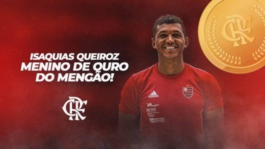 Isaquias Queiroz é um dos medalhistas brasileiros atletas do Flamengo