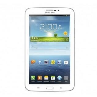 Galaxy Tab 3, com tela de 7 polegadas, ganhou design mais refinado e chip mais poderoso