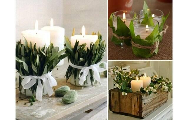 Flores e plantas podem compor a decoração de Natal de sua casa e levar um toque especial à mesa da ceia