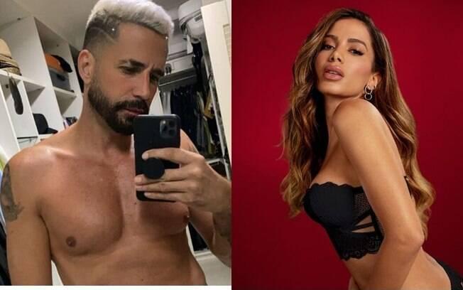 Latino fala que Anitta o destratou na casa dela