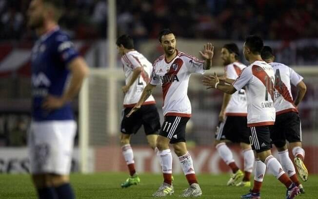 Em goleada histórica, River Plate reverteu a situação em cima do Jorge Wilstermann