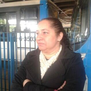 Luciane Mendes foi surpreendida pela paralisação. (12/04)