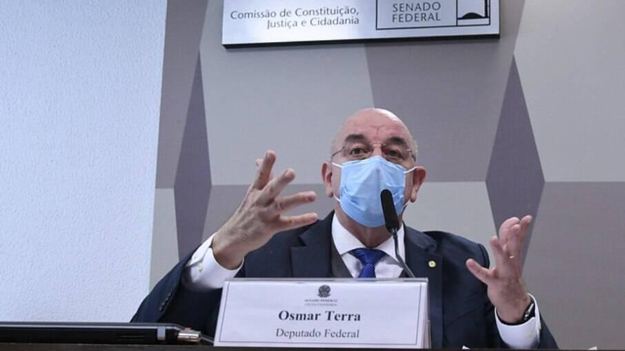 Osmar Terra (MDB-RS) na CPI da Covid