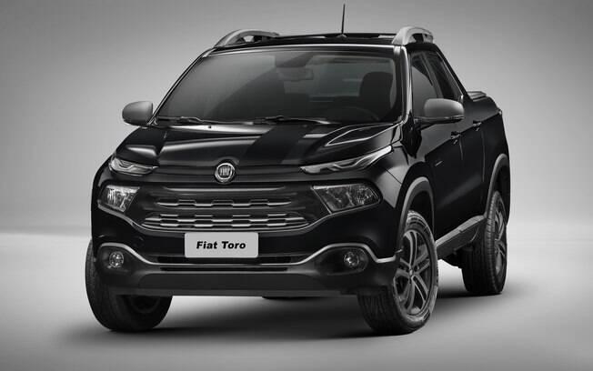Fiat Toro Blackjack é outra versão especial da picape  líder de vendas do segmento hoje em dia, conforme a Fenabrave
