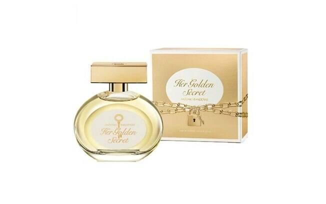 Her Golden Secret Eau De Toilette Feminino, da Antonio Bandeiras, por R$74,90 ou em 6x de R$12,48