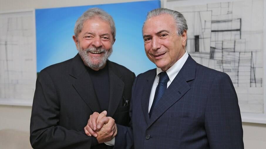 Lula teria ignorado 'esquemas' para selar coalizão com Michel Temer